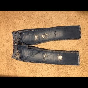 """Rock Revival """"Heidi"""" Capri jeans"""